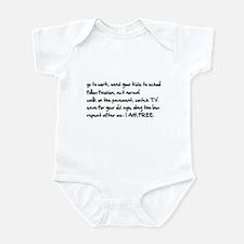 I am Free Infant Bodysuit