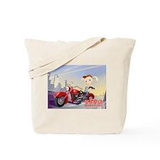 Cute Biker chic Tote Bag