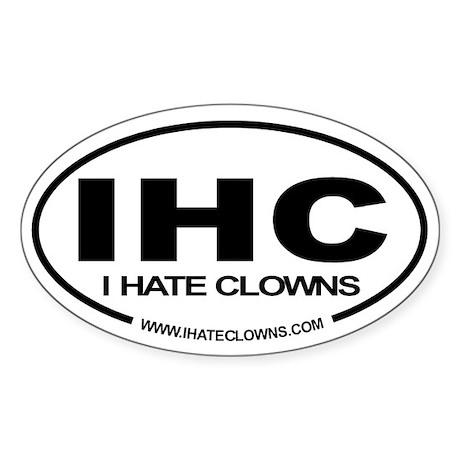 Euro Style IHC Oval Sticker