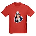 Uncle Sam Kids Dark T-Shirt
