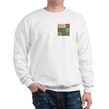 Shuffleboard Pop Art Sweatshirt