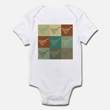 Shuffleboard Pop Art Infant Bodysuit