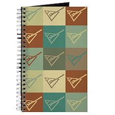 Shuffleboard Pop Art Journal