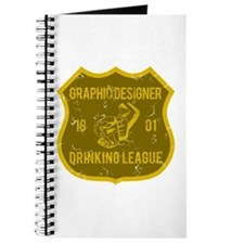 Graphic Designer Drinking League Journal