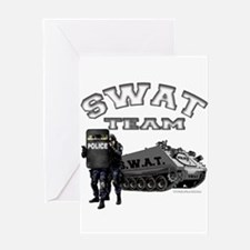 S.W.A.T. Team Greeting Card