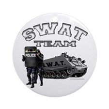 S.W.A.T. Team Ornament (Round)