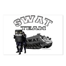 S.W.A.T. Team Postcards (Package of 8)