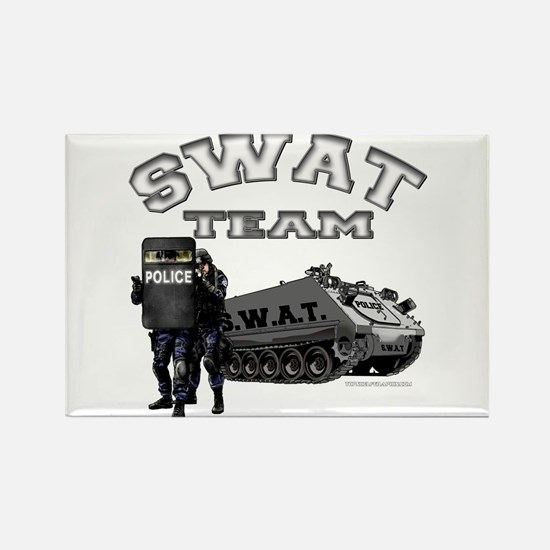 S.W.A.T. Team Rectangle Magnet