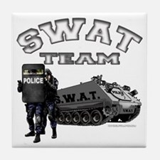 S.W.A.T. Team Tile Coaster