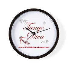TANGO DIVA Wall Clock