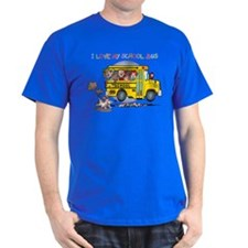 I Love My Schoolbus T-Shirt
