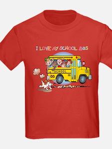 I Love My Schoolbus T