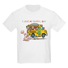 I Love My Schoolbus T-Shirt