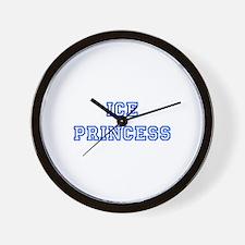 Ice princess-blue Wall Clock