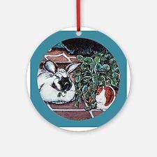 Rabbit Social Keepsake (Round)