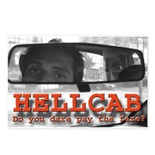 Hell Cab Postcards (Package of 8)