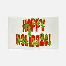 Happy Holidaze! 5 Rectangle Magnet