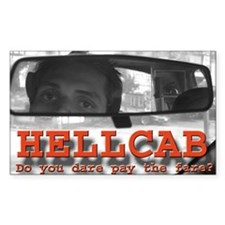 Hell Cab Rectangle Decal