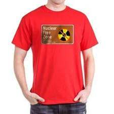Nuclear Free Zone, USA T-Shirt