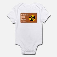 Nuclear Free Zone, USA Infant Bodysuit