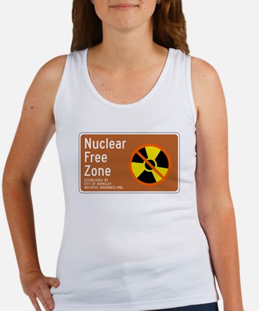 Nuclear Free Zone, USA Women's Tank Top