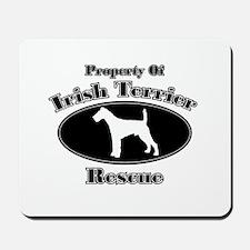 Property of Irish Terrier Res Mousepad