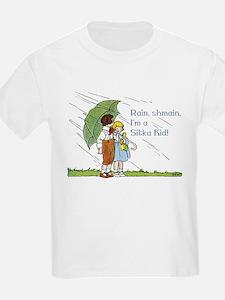 What Rain? Sitka, AK Kids T-Shirt