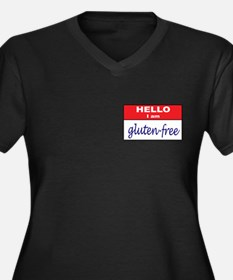 I Am... Gluten-Free Women's Plus Size V-Neck Dark