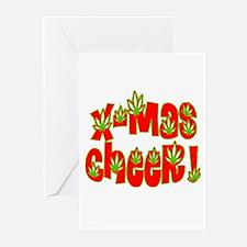 X-mas Cheer! 2 Greeting Cards (Pk of 20)