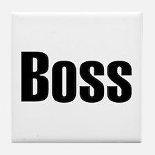 Boss Tile Coaster