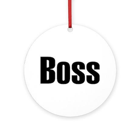Boss Ornament (Round)