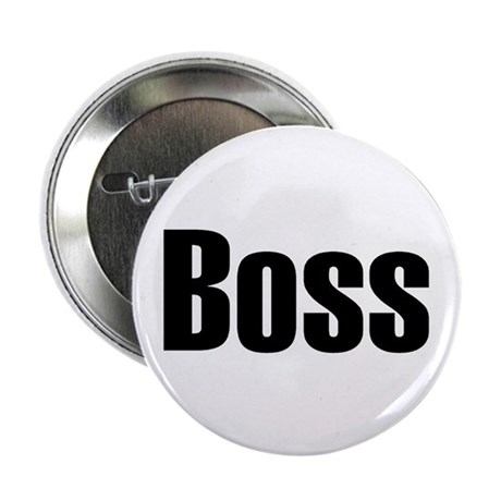 "Boss 2.25"" Button (10 pack)"