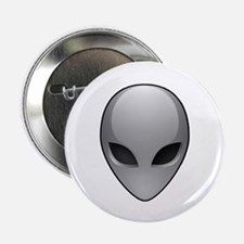 "UFO Alien 2.25"" Button (10 pack)"