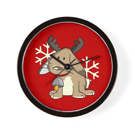 Cute little reindeer Wall Clock