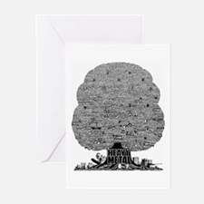 Heavy Metal Greeting Cards (Pk of 20)