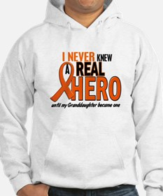 Never Knew A Hero 2 ORANGE (Granddaughter) Hoodie