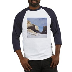 Monument Rocks Kansas Pyramid Baseball Jersey
