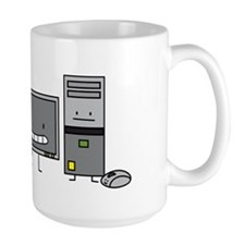 Happy computers Mug