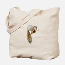 Squirrel Champagne Tote Bag