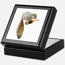 Squirrel Champagne Keepsake Box