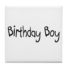 Birthday Boy Tile Coaster