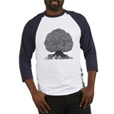 Burton tree of american rock Baseball Tee