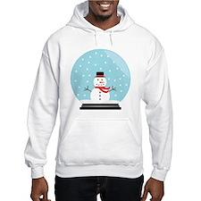 Snowman in a Snow Globe Hoodie