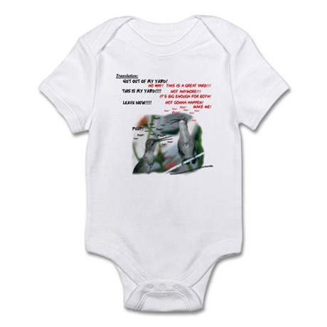 Chattering Hummers(T) Infant Bodysuit