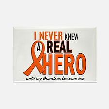 Never Knew A Hero 2 ORANGE (Grandson) Rectangle Ma
