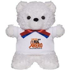 Never Knew A Hero 2 ORANGE (Grandson) Teddy Bear