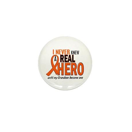 Never Knew A Hero 2 ORANGE (Grandson) Mini Button