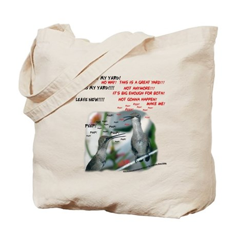 Chattering Hummers(T) Tote Bag