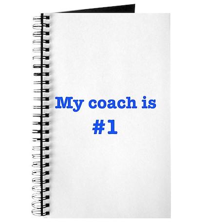 My coach is #1-blue Journal