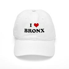 I Love BRONX Baseball Cap